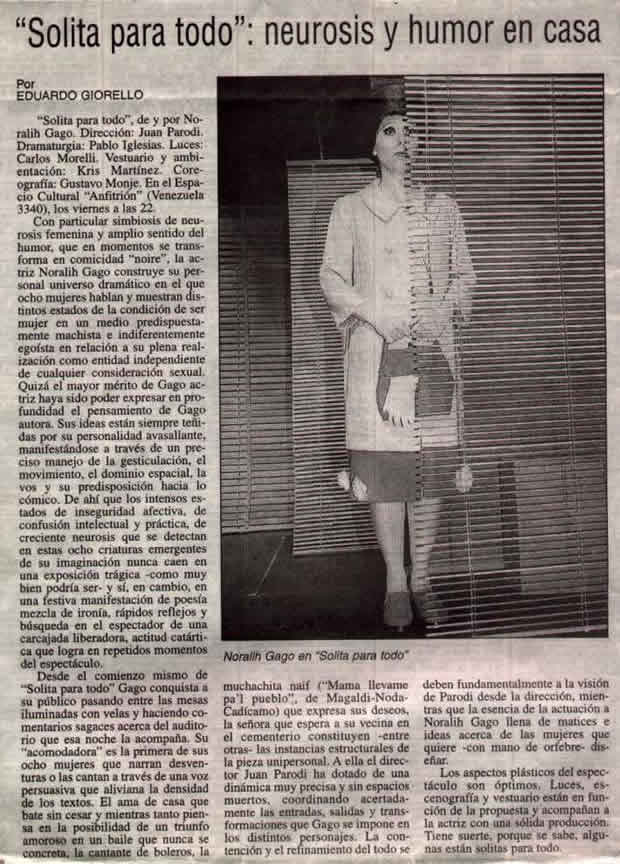 Diario el Día de La Plata. Eduardo Giorello
