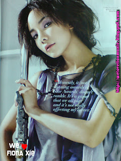 Fiona Xie in Style Magazine April 2008 issue - 2