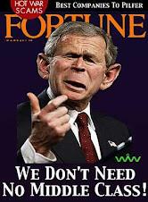 Bush: Morte alla classe media