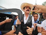 il Presidente  Zelaya deposto