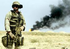 soldato usa in Iraq