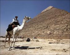 cavaliere e piramide