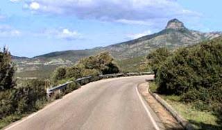strada Gennas-Funtanazza (scorcio)
