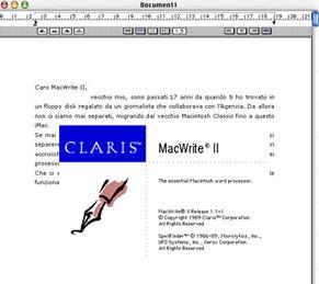 Claris MacWrite II