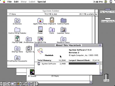 Mac OS 7,5