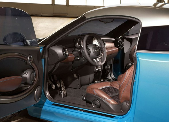 2009 MINI Coupe Concept interior