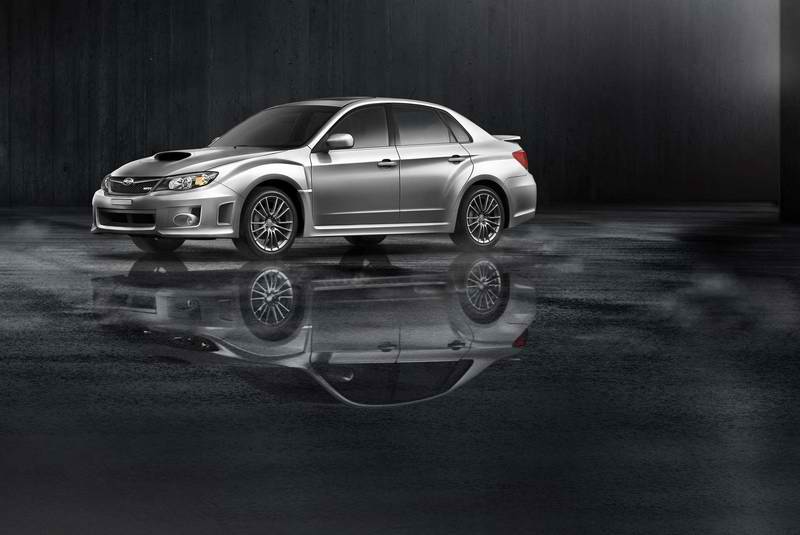 2011 Impreza WRX 4- and 5-door models access in Subaru dealerships this