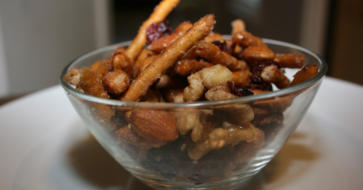 Nuts and Bolts Trail Mix Slow Cooker Recipe