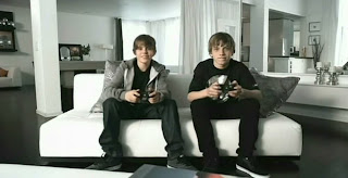 Justin Bieber with Friend