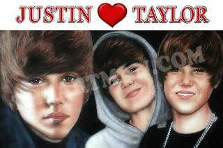 Justin Bieber draws