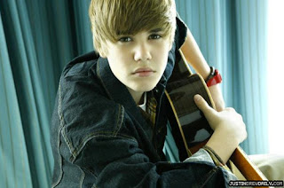 Justin Bieber with guitar