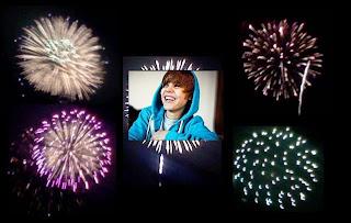Justin Bieber in Fireworks