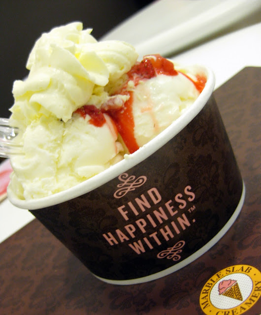 *the simplest aphrodisiac: Marble Slab Creamery