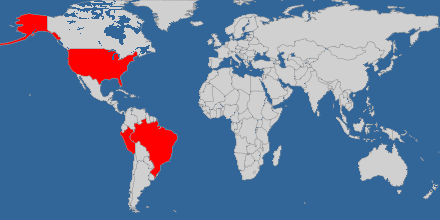 Países donde he quemado zapatillas