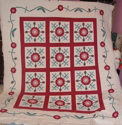 mctavishing on custom quilt