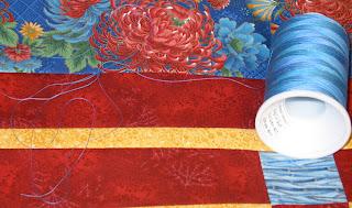four patch posie quilt