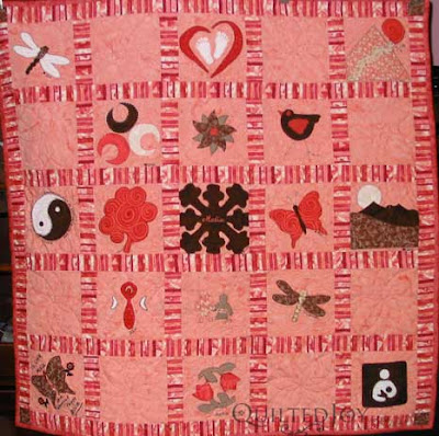 Phyllis's Baby Quilt, quilted by Angela Huffman