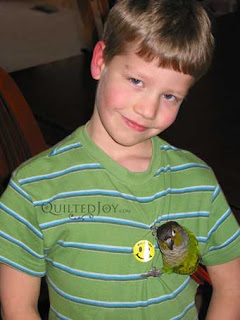 Nick with a bird
