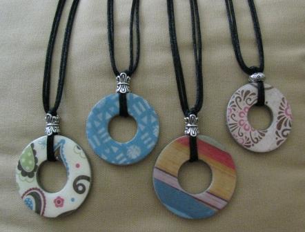 Scrappin becky b washer pendant jewelry washer pendant jewelry aloadofball Choice Image