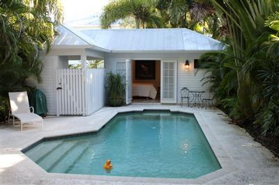 Key west real estate blog truman annex house with cottage for Pool house plans with living quarters