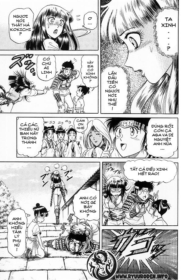 Chú bé rồng-Ryuuroden chap 15 Trang 31 - Mangak.info