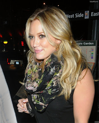Hilary Duff Watches Britney Spears
