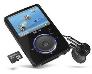 Sansa Fuze 4GB Media Player