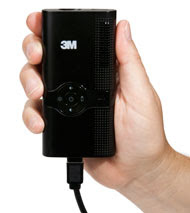 A Pocket Projector to Make Any Surface a Silver Screen