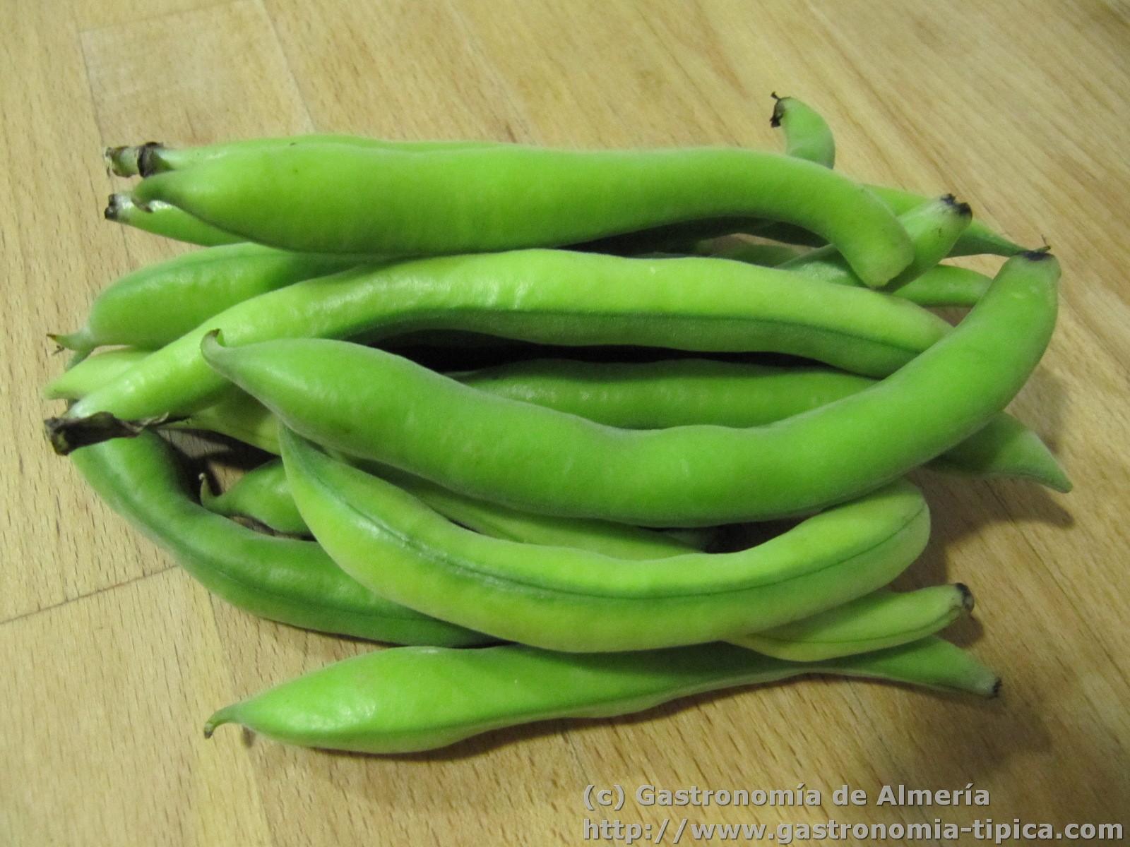 Gastronom a de almer a receta de verduras habas tiernas - Habas tiernas con jamon ...
