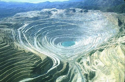 biggest Bingham Canyon Mine laid bare