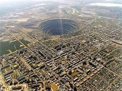 Mirny Diamond Mine, Russia