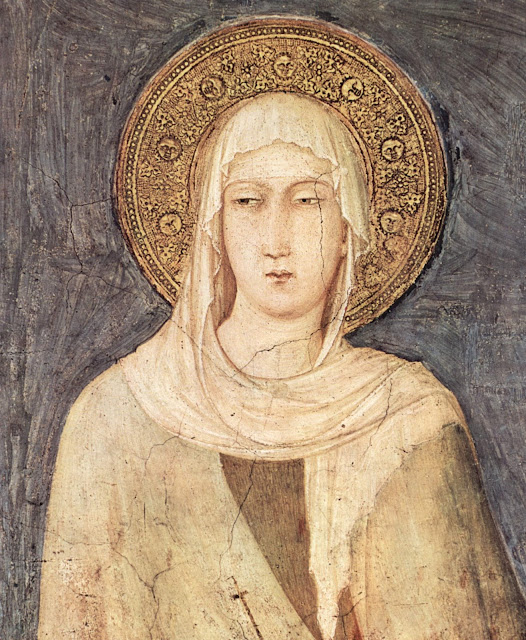 IDLE SPECULATIONS: St. Clare of Assisi (Santa Chiara) (1194-1253)