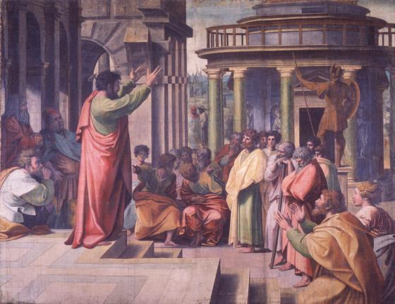 IGITERAMO CO GUSENGA CO KURI IYI SABATO YO KU WA 11 RUHESHI/ KAMENA paul+preaching+at+athens+raphael