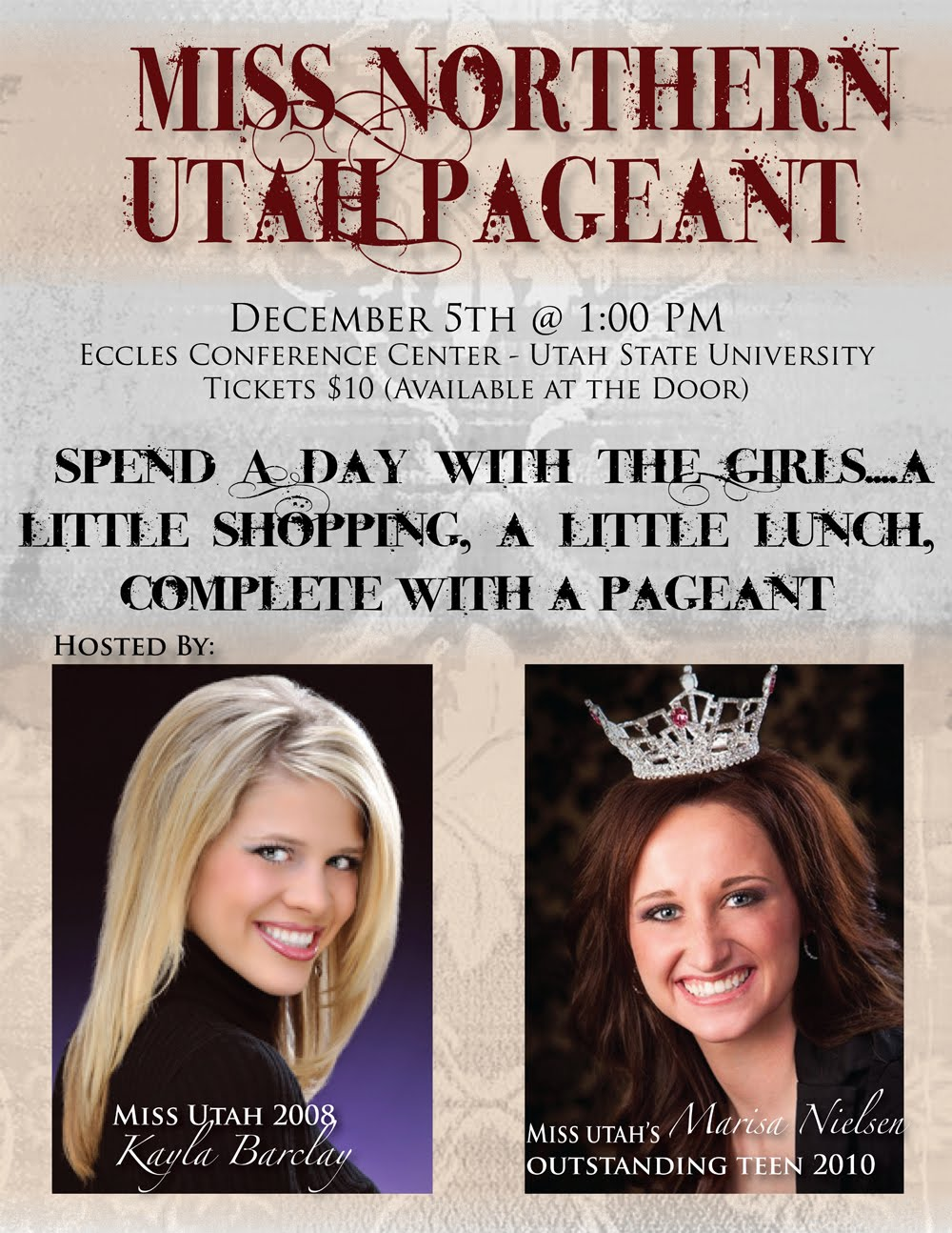 Pageant Flyers Example