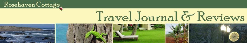 Rosehaven Cottage Travel Journal