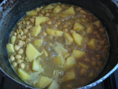 Curry Channa and Aloo (Potato), channa and aloo recipe