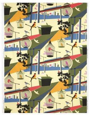 Ikea birdcage fabric