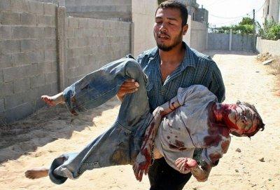 ATTENTION ! INVASION MUSULMANE ? - Page 2 Mort+palestine