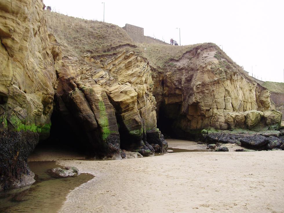The Faery Folklorist: Fairies Caves, Cullercoats
