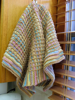 knit Gridded Towel pattern