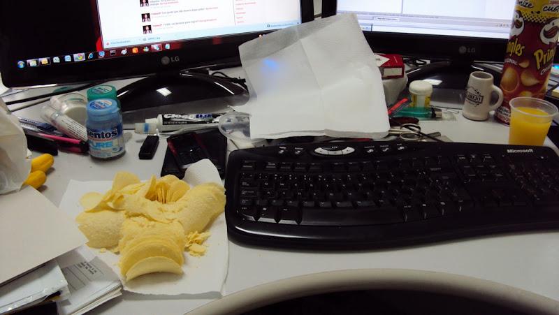 Almoço.