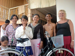 5 AMFW Bikes Given to Rural Phnom Penh Students