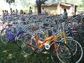 A Sea of Bikes!