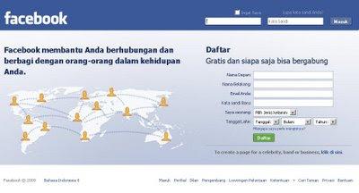 Cara mendaftar facebook yang benar