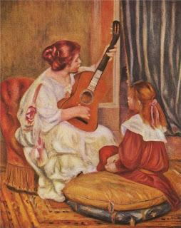 П.О.Ренуар - Урок игры на гитаре