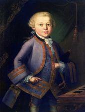 юный Моцарт