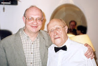 Ефрем Подгайц и Мстислав Ростропович