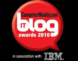 Computer Weekly Blog Awards - Project Management.