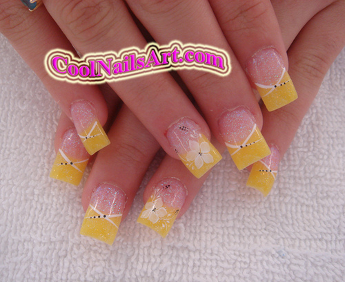 The Exciting 3d nail designs 2015 beautiful flower nail art Photograph