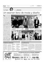 El Periódico de Aragón, 7 de Marzo de 2009
